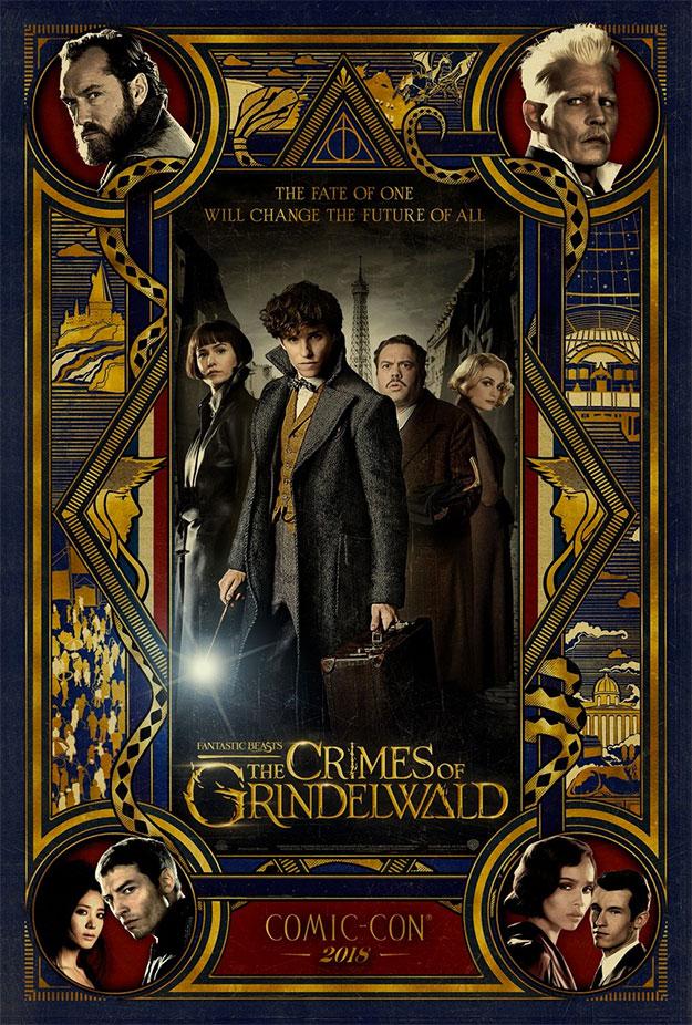 Póster de Animales Fantásticos: Los Crímenes de Grindelwald