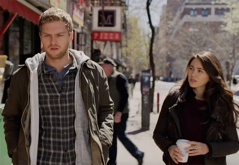 Danny Rand y Colleen Wing en la 2T de Iron Fist