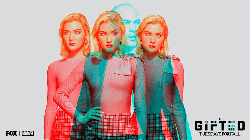 Banner promocional de la Segunda Temporada de The Gifted
