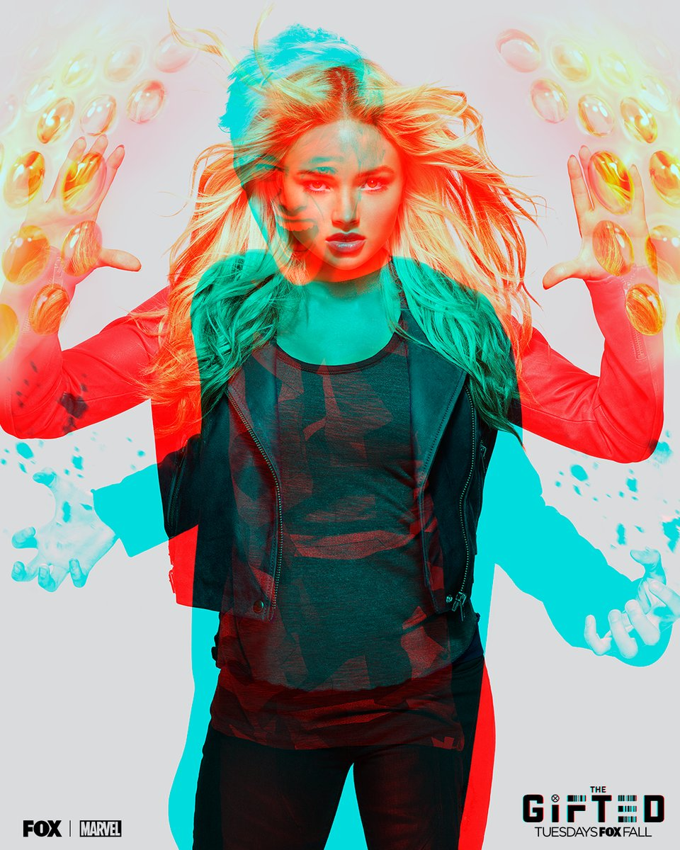 Póster de la Segunda Temporada de The Gifted