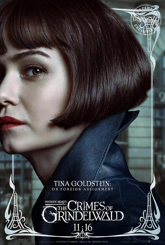 Tina Goldstein en Animales Fantásticos: Los Crímenes de Grindelwald