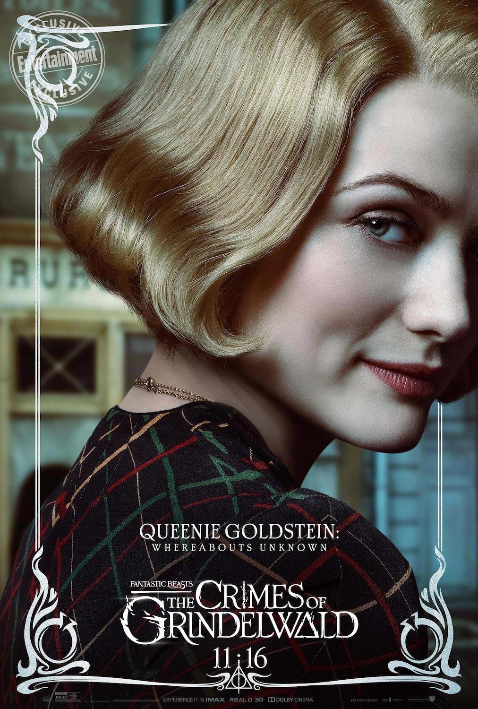 Queenie Goldstein en Animales Fantásticos: Los Crímenes de Grindelwald