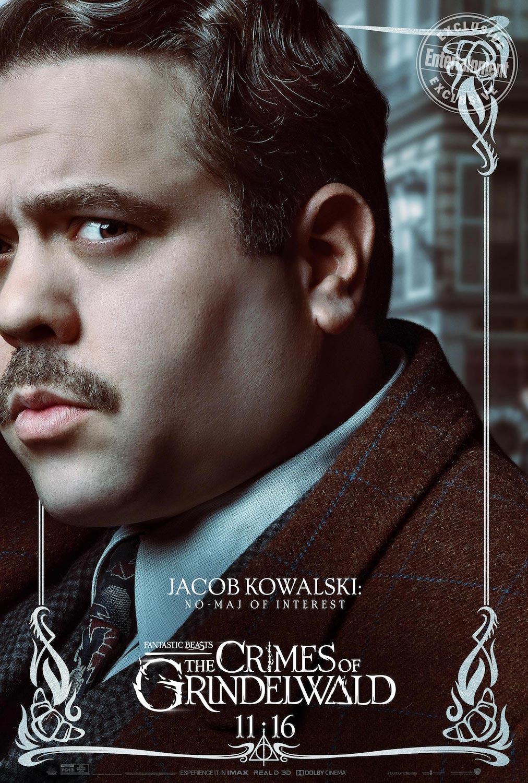 Jacob Kowalski en Animales Fantásticos: Los Crímenes de Grindelwald