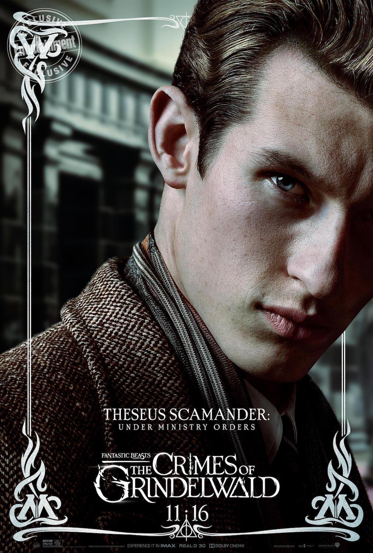 Theseus Scamander en Animales Fantásticos: Los Crímenes de Grindelwald