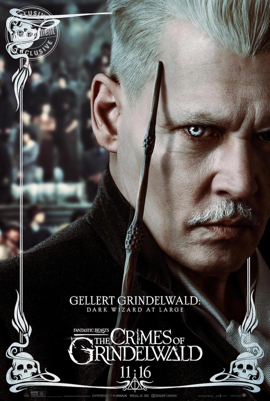 Gellert Grindelwald en Animales Fantásticos: Los Crímenes de Grindelwald