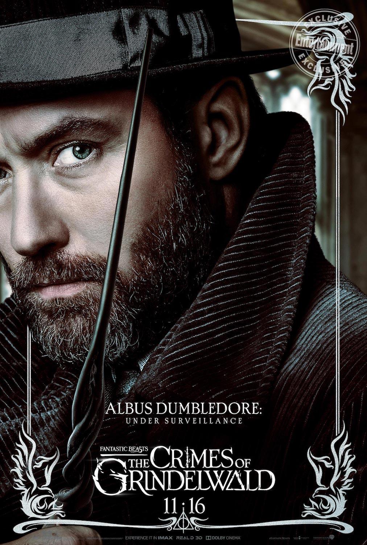Albus Dumbledore en Animales Fantásticos: Los Crímenes de Grindelwald