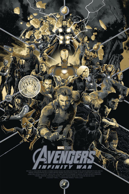 Póster de Avengers: Infinity War