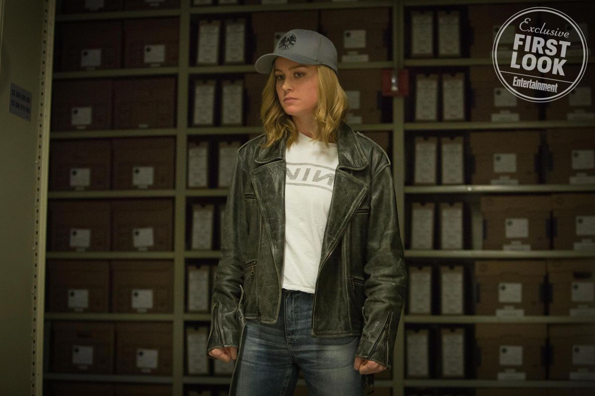 Carol Danvers en Captain Marvel