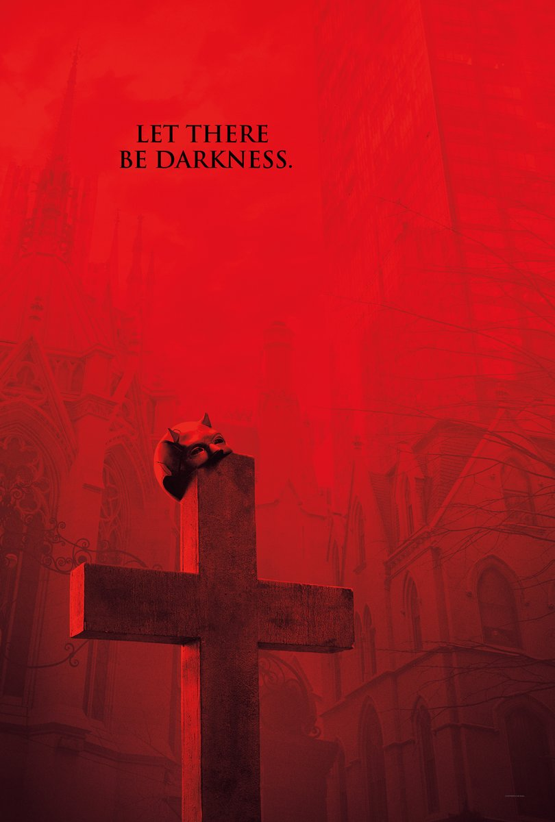 Póster de la tercera temporada de Daredevil