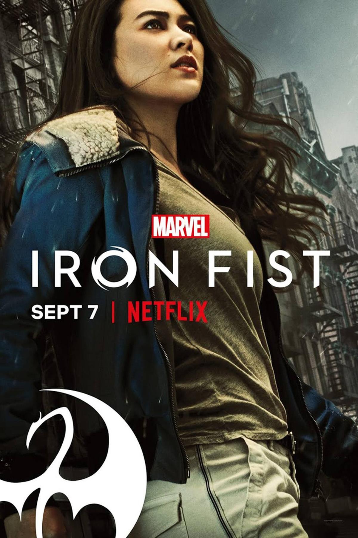 Póster de la segunda temporada de Iron Fist