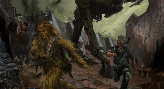 Concept Art de Solo: A Star Wars Story