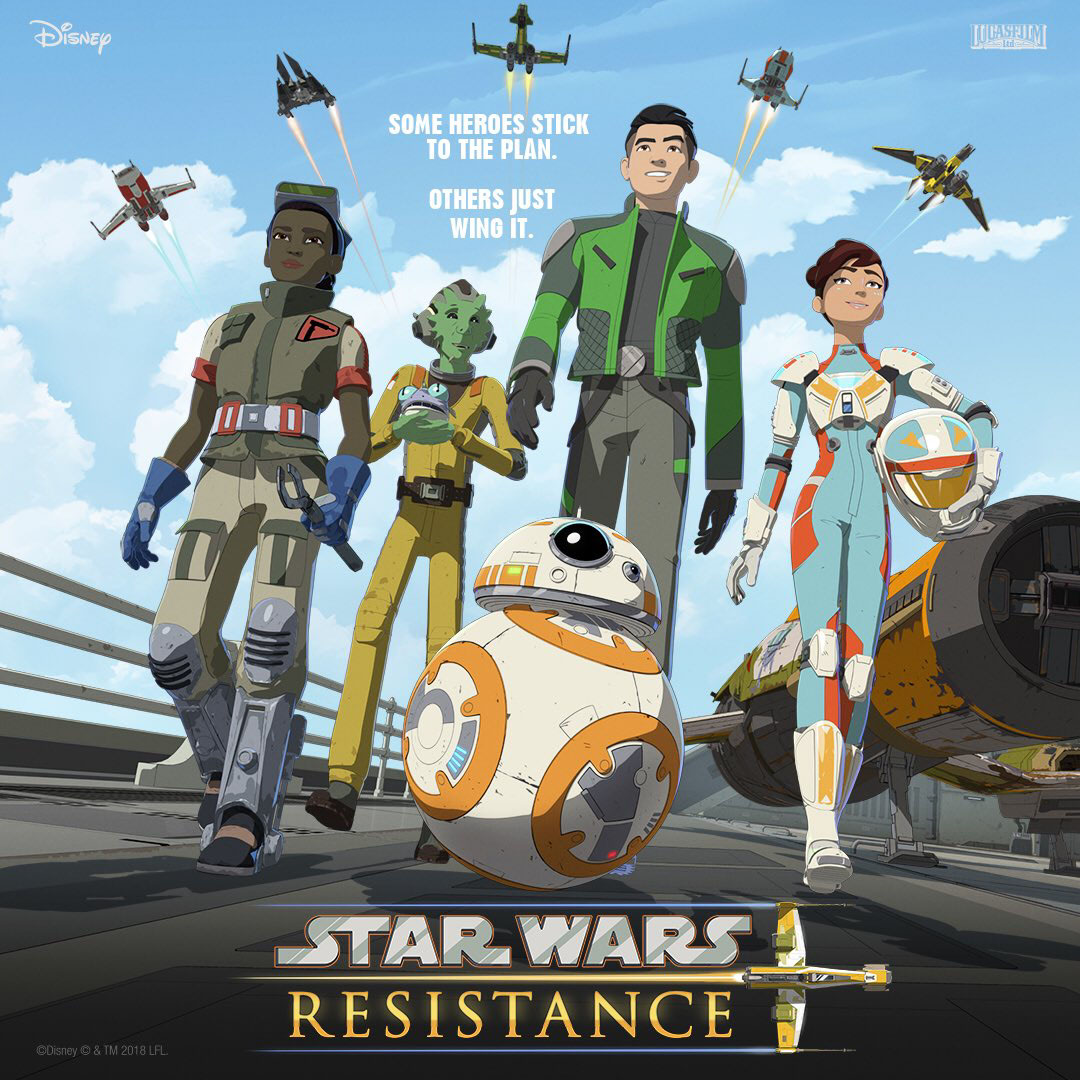 Primer póster de Star Wars Resistance