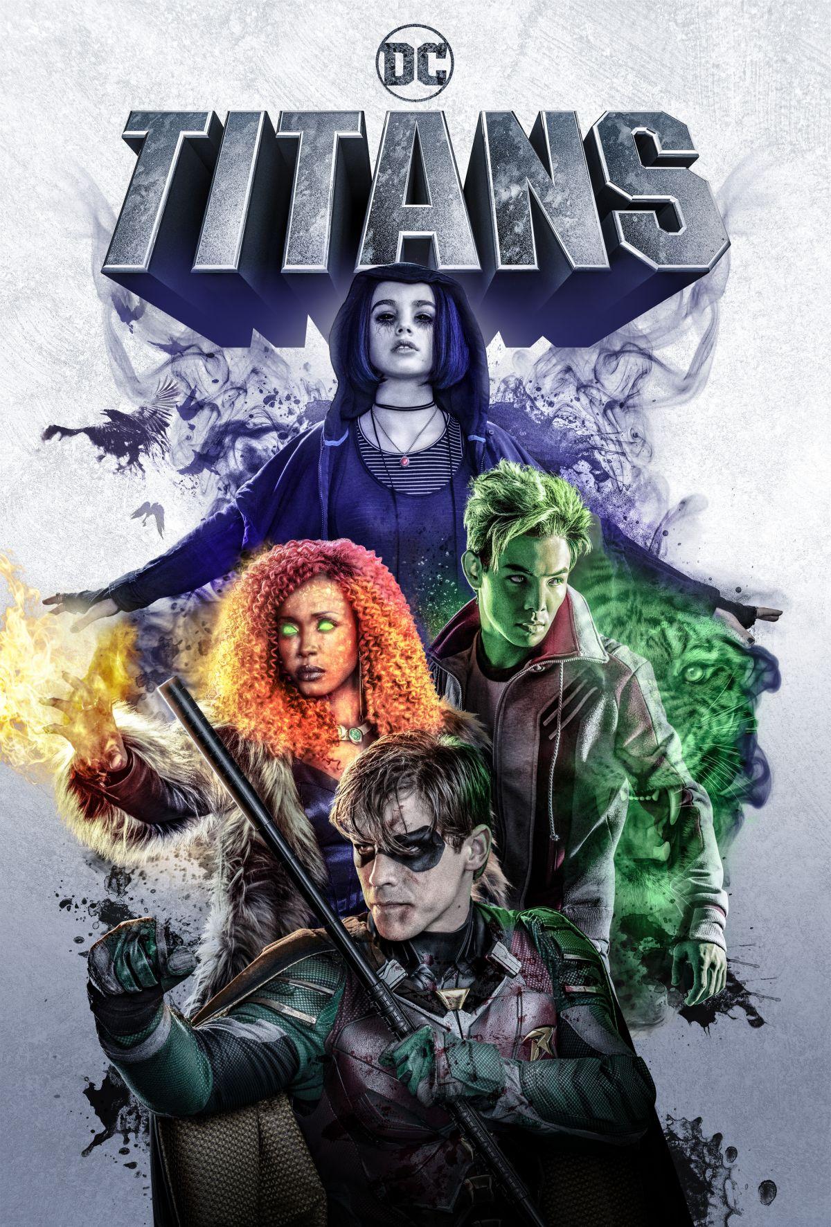 Póster de Titans
