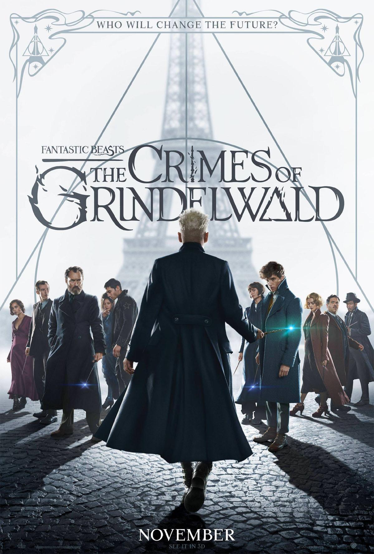 Nuevo póster de Animales Fantásticos: Los crímenes de Grindelwald