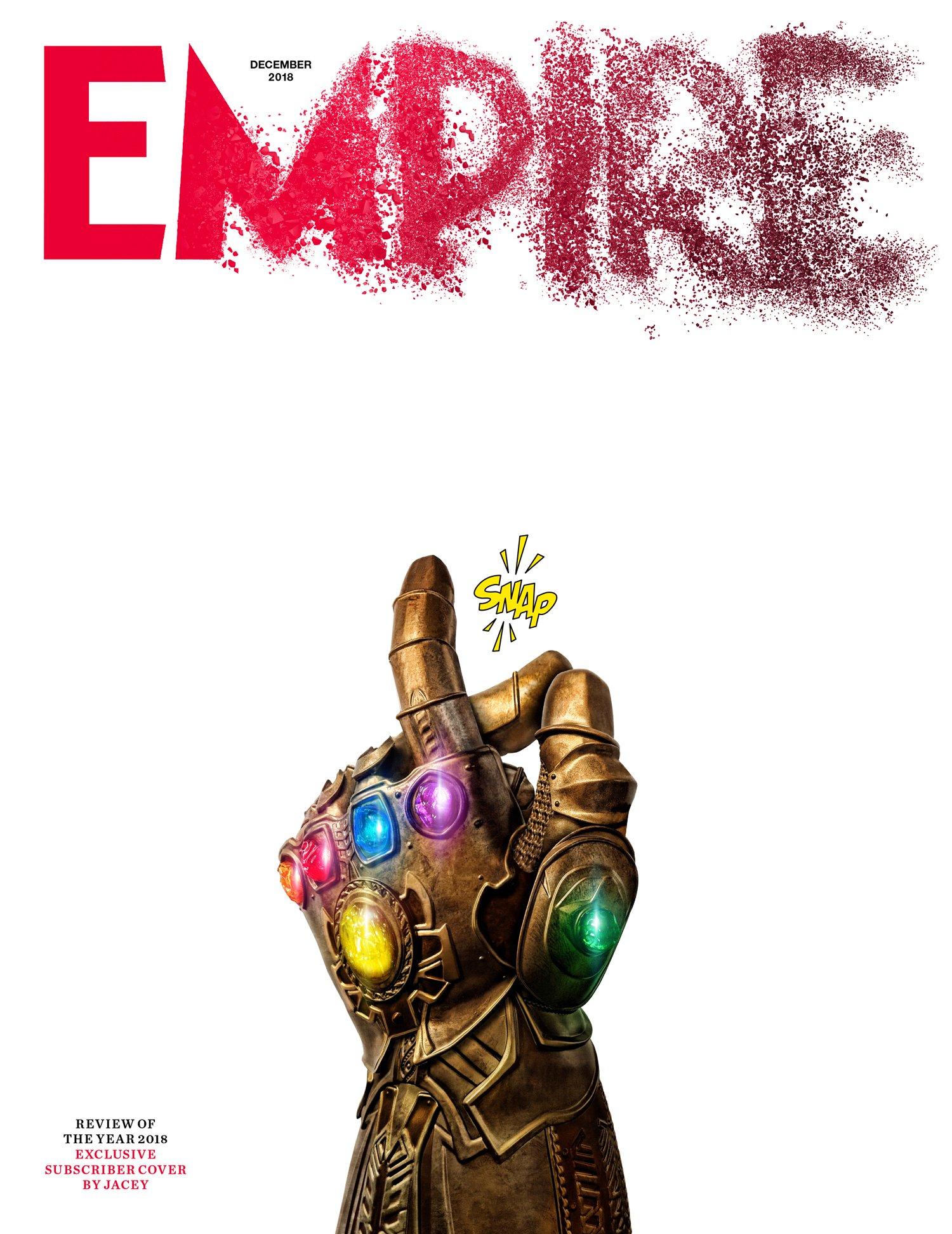 Portada de Empire dedicada a Avengers: Infinity War