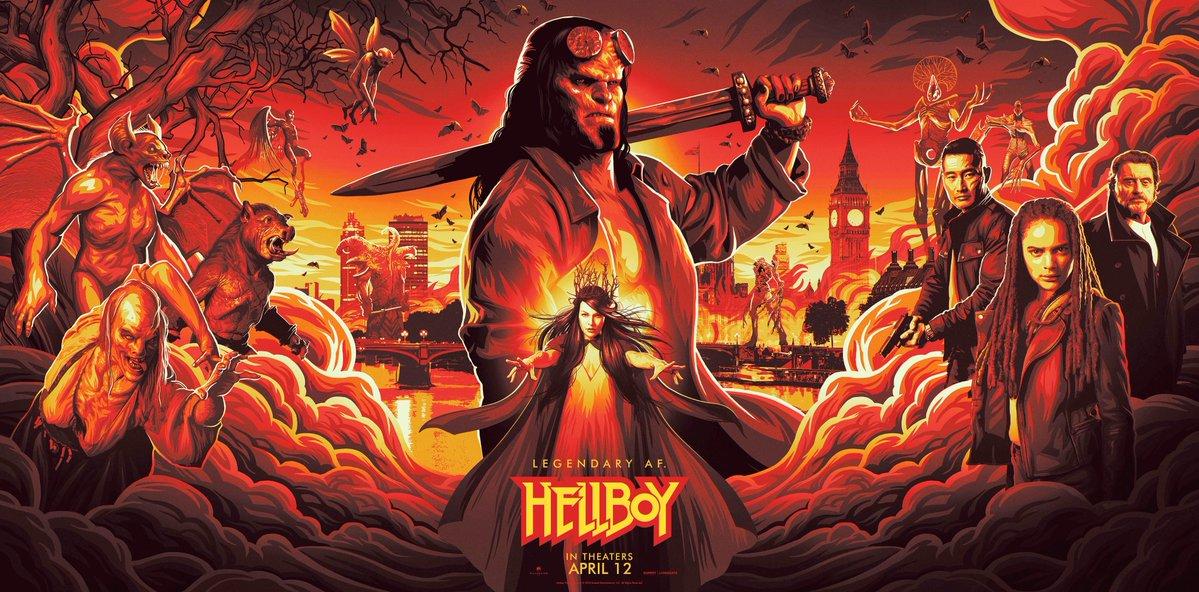 Nuevo banner de Hellboy