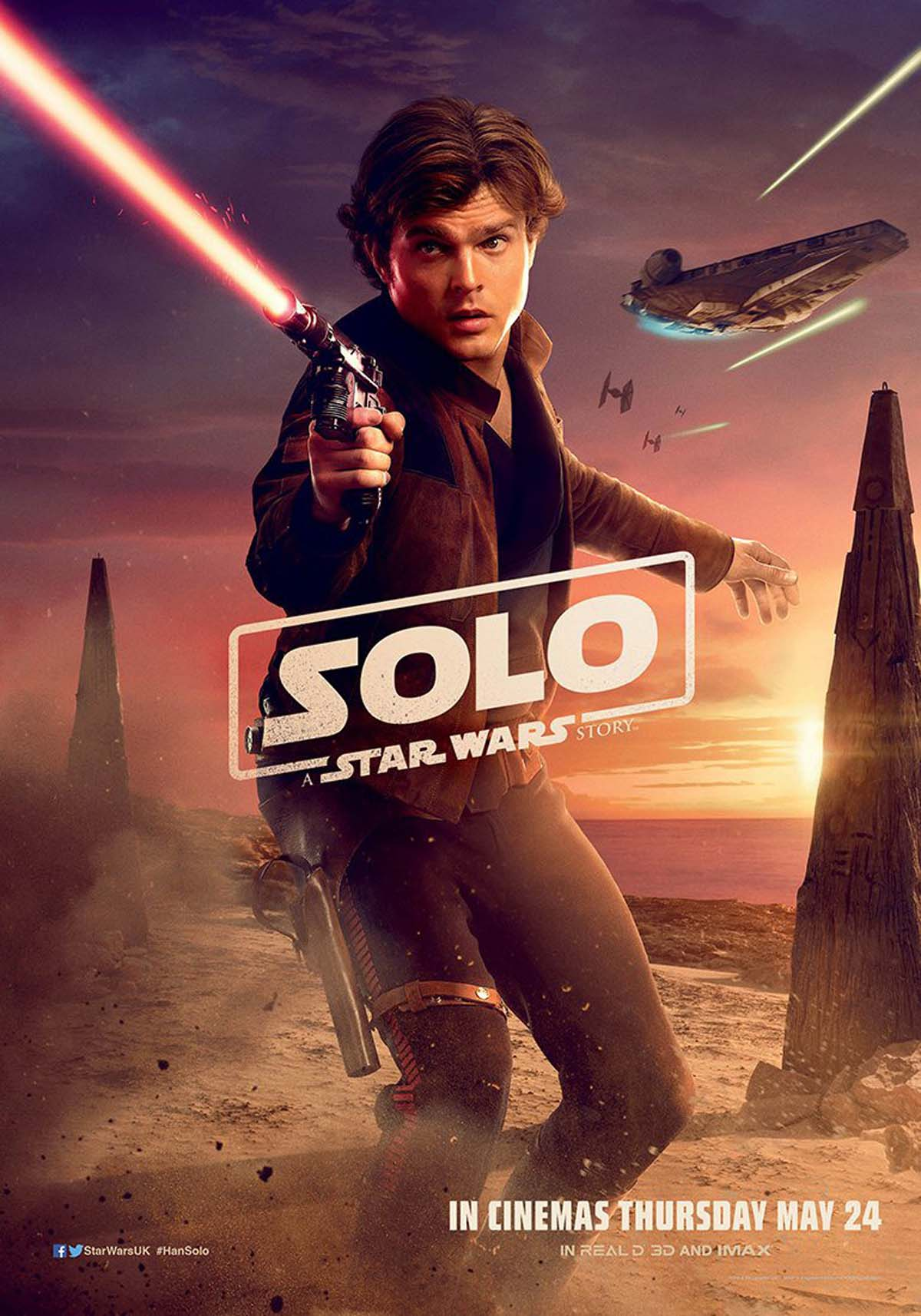 Póster de Solo: A Star Wars Story