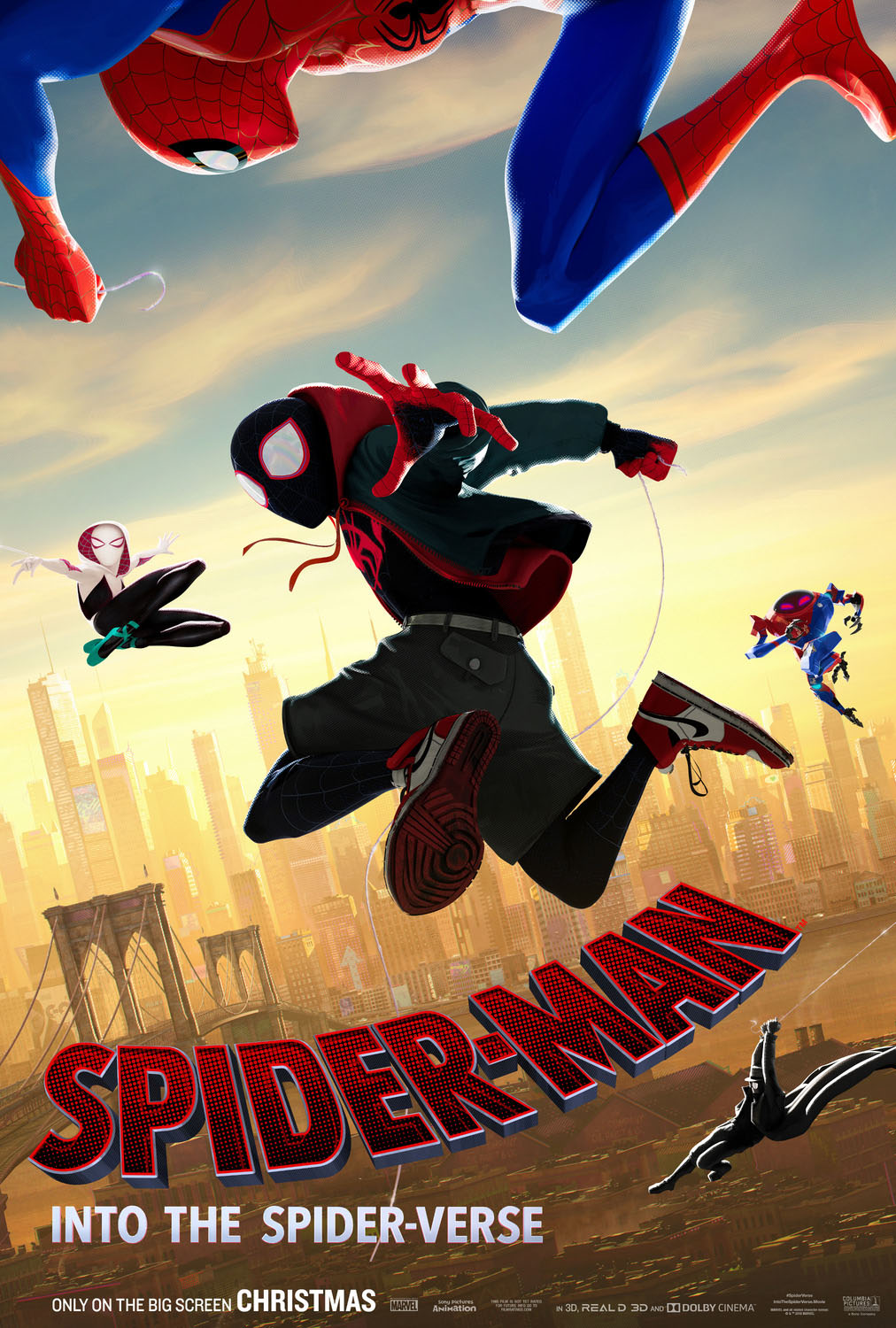 Póster de Spider-Man: Into The Spider-Verse