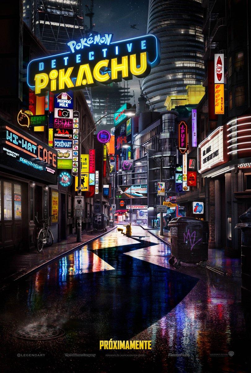 Póster de Pokémon Detective Pikachu