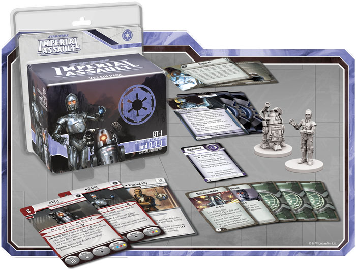 BT-1 y 0-0-0 en Imperial Assault