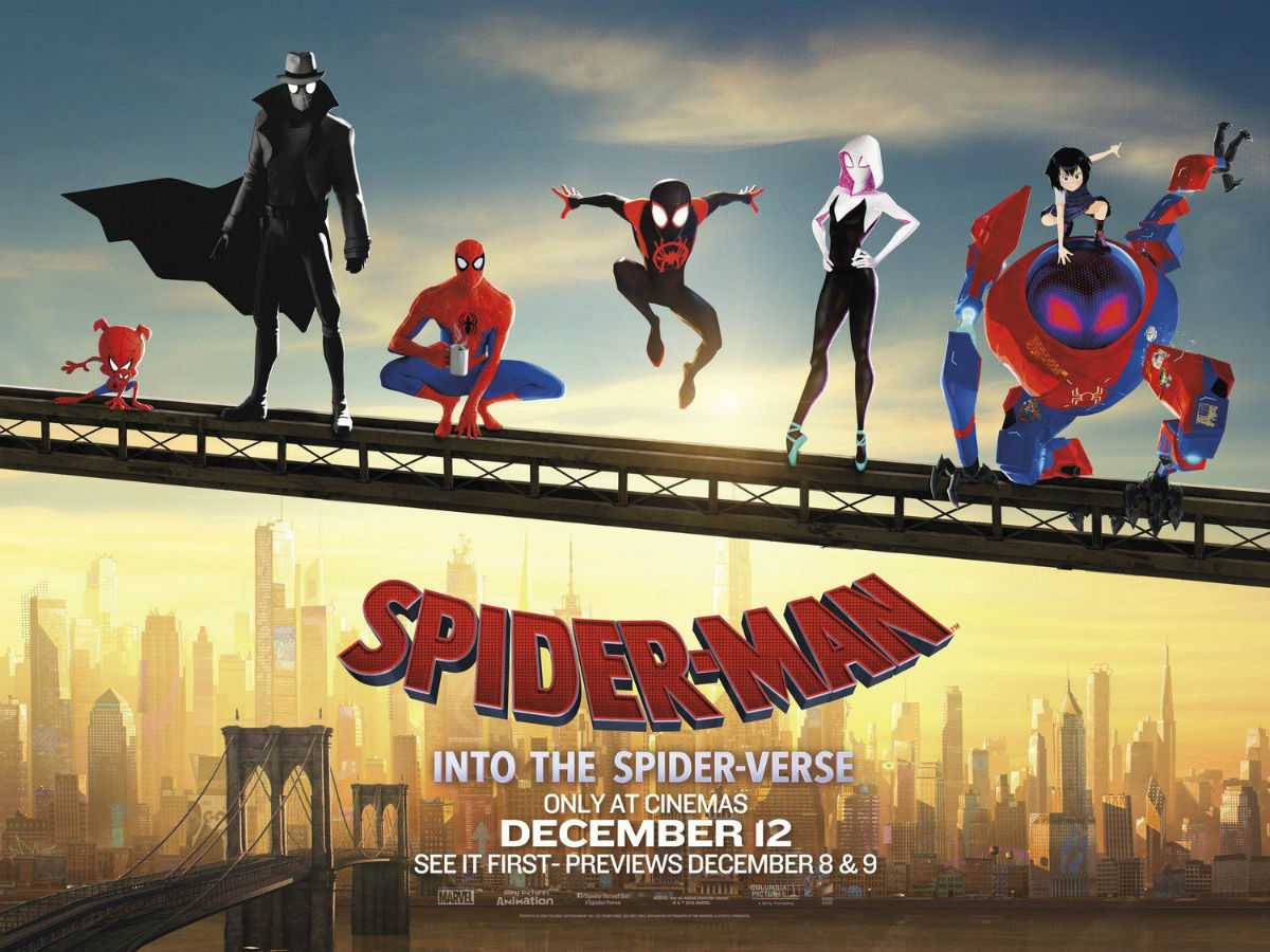 Banner de Spider-Man: Into The Spider-Verse