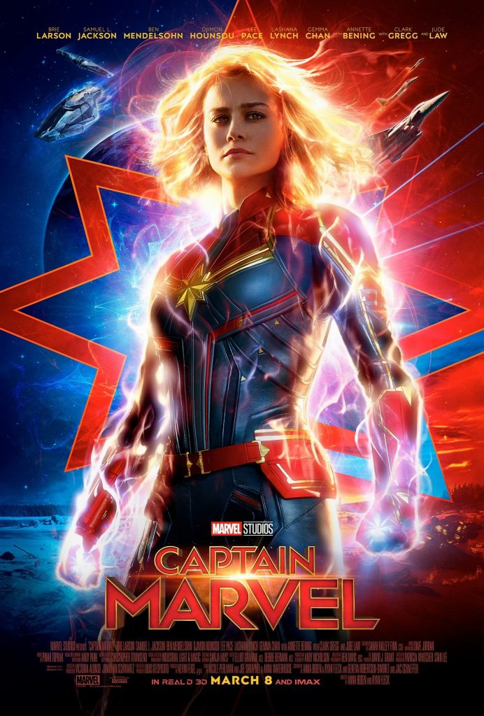 Póster de Captain Marvel