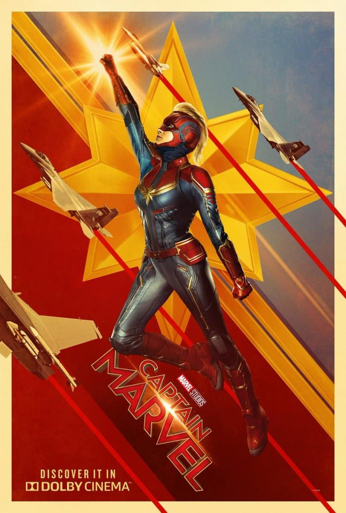 Póster de Captain Marvel