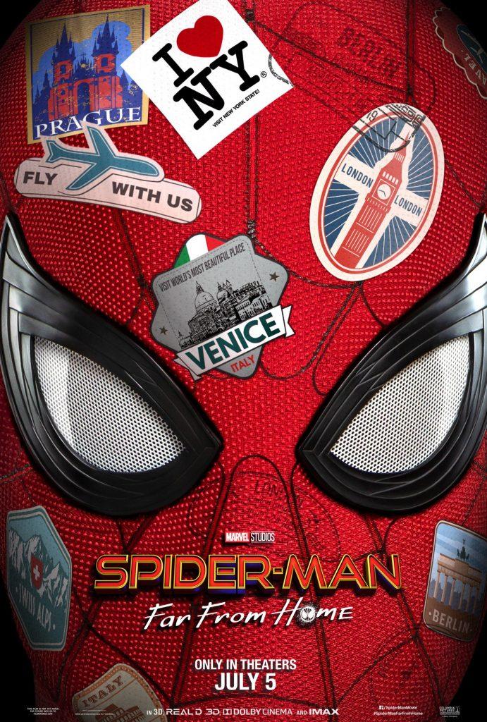 Primer póster de Spider-Man: Far From Home