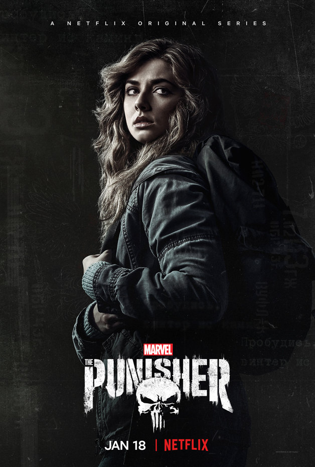 Póster de la Segunda Temporada de The Punisher