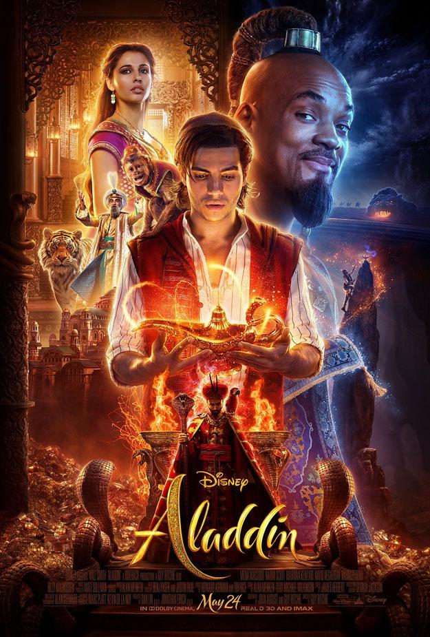 Primer póster de Aladdin