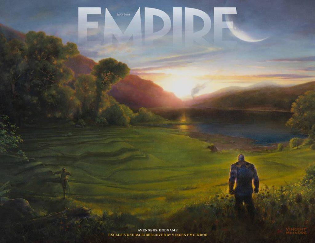 Portada de Empire dedicada a Avengers: Endgame