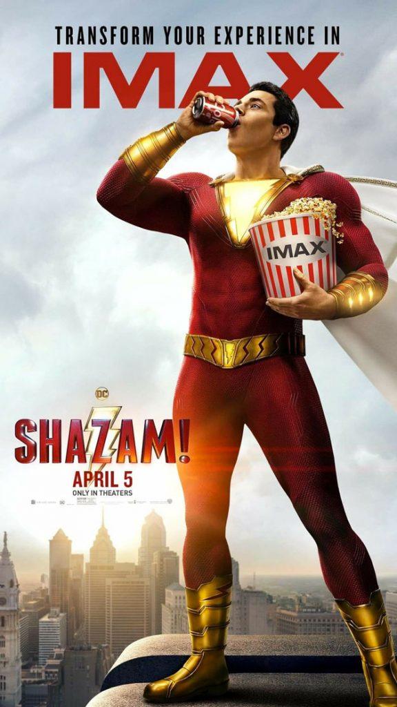 Póster IMAX de Shazam!