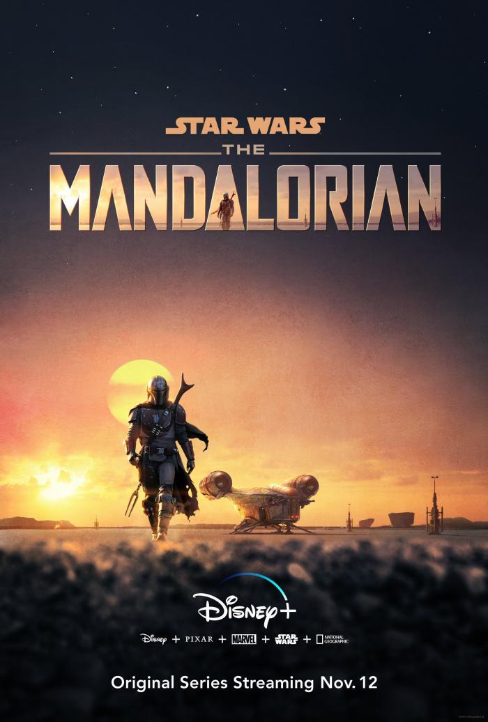 Póster de The Mandalorian
