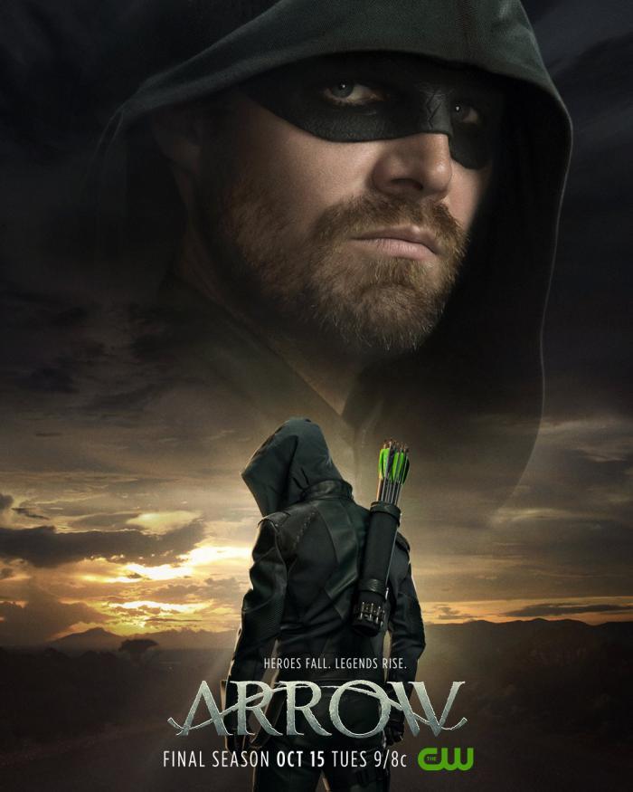 Póster de la Octava Temporada de Arrow