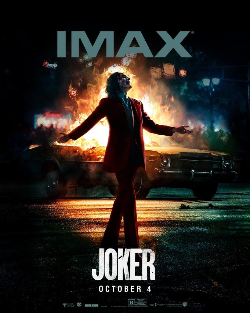 Póster IMAX de Joker
