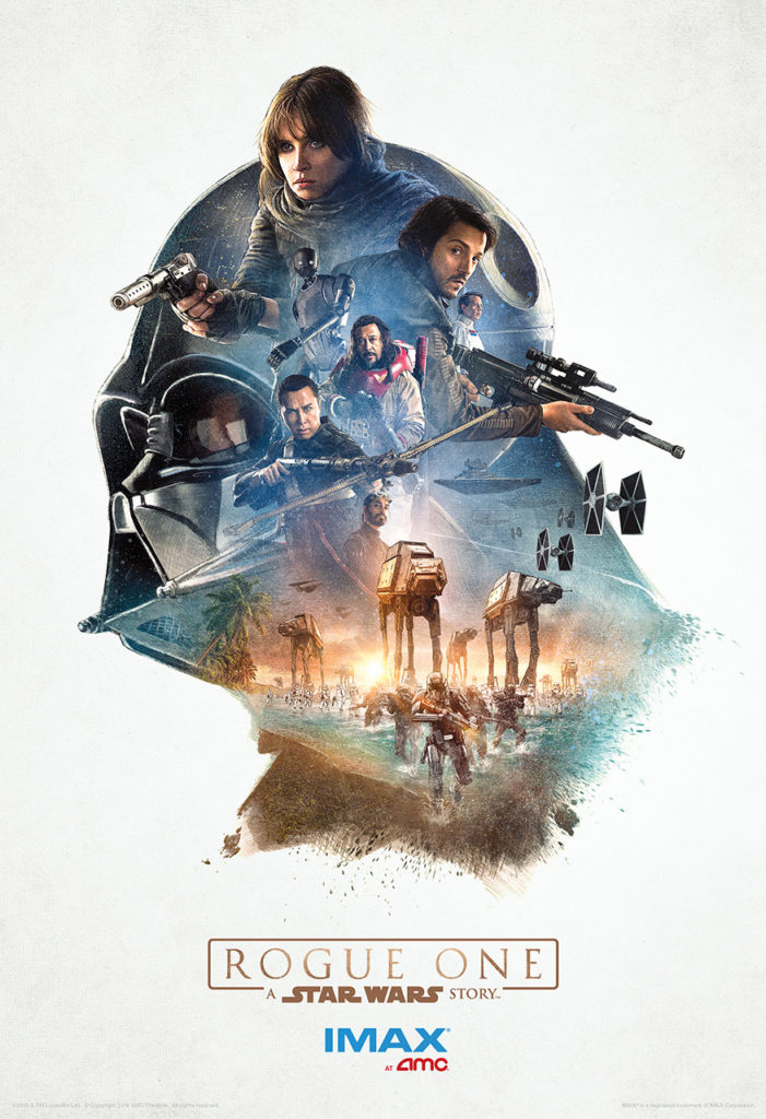 Póster IMAX de Rogue One: Una Historia de Star Wars