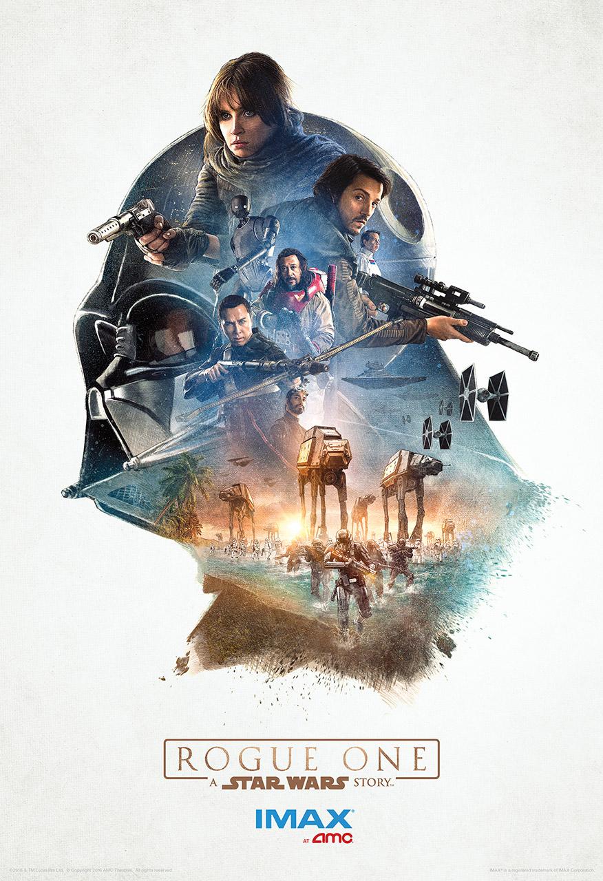 Póster IMAX de Rogue One: Una Historia de Star Wars