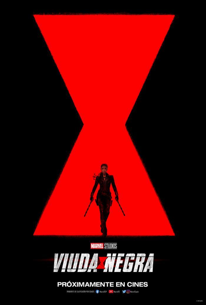 Primer póster de Black Widow