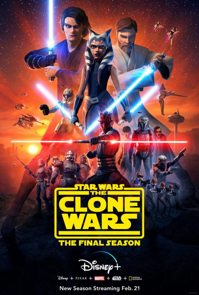 Póster de Star Wars: The Clone Wars