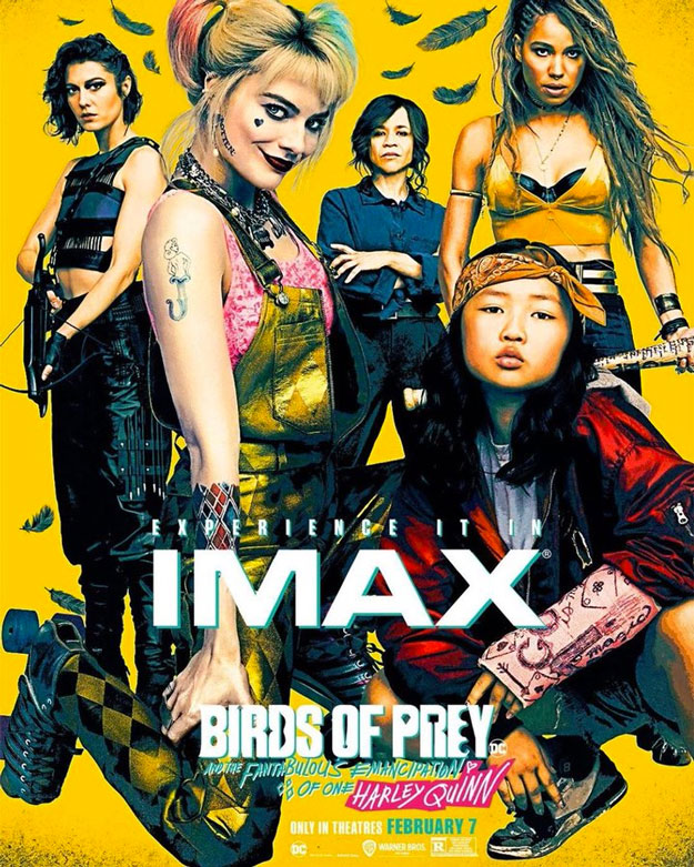 Póster IMAX de Birds of Prey