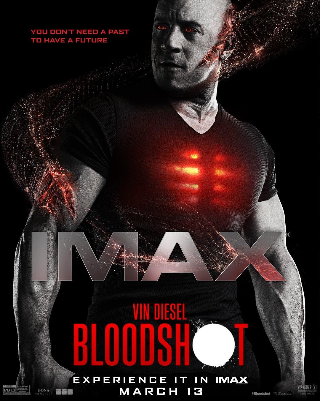 Póster IMAX de Bloodshot