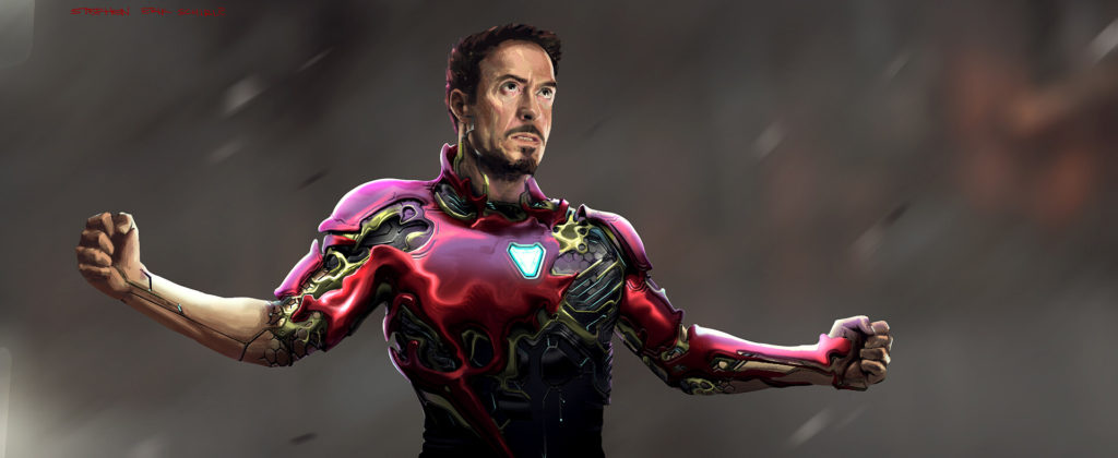 Concept Art de Stephen Schirle para Avengers: Infinity War / Avengers: Endgame