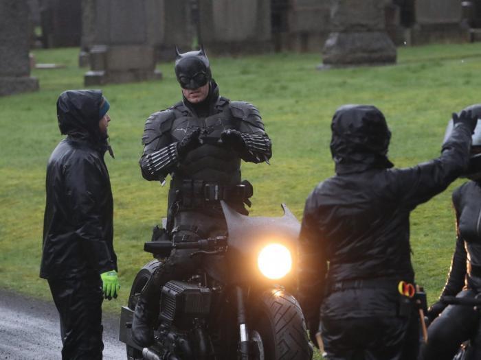 Imagen del rodaje de The Batman