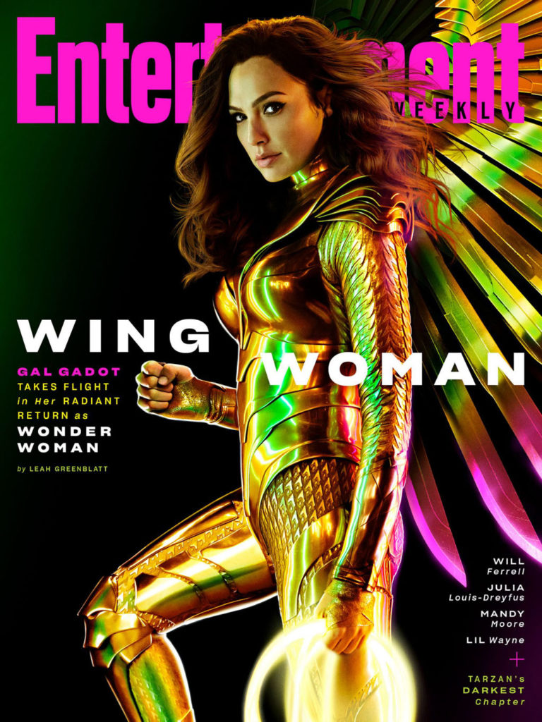 Portada de Entertainment Weekly dedicada a Wonder Woman 1984