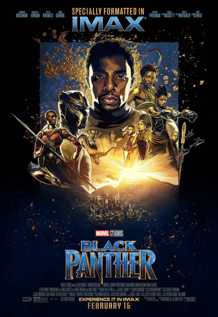 Póster IMAX de Black Panther