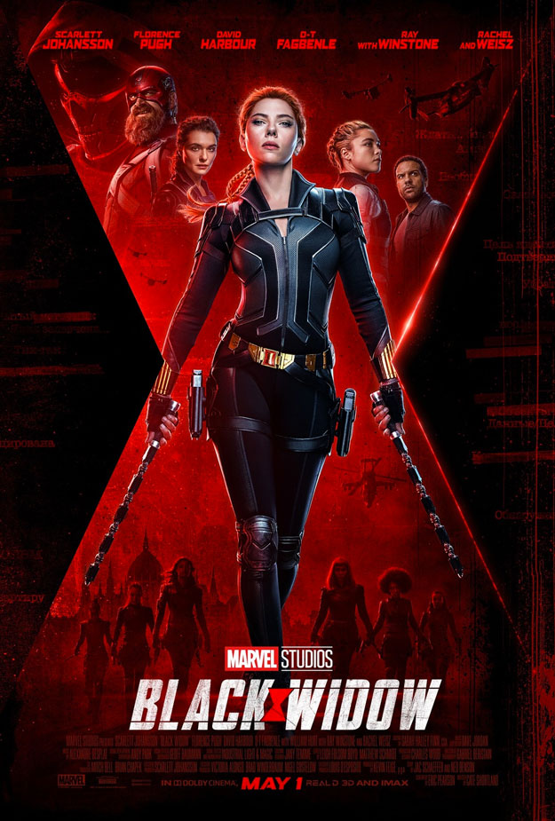 Póster final de Black Widow