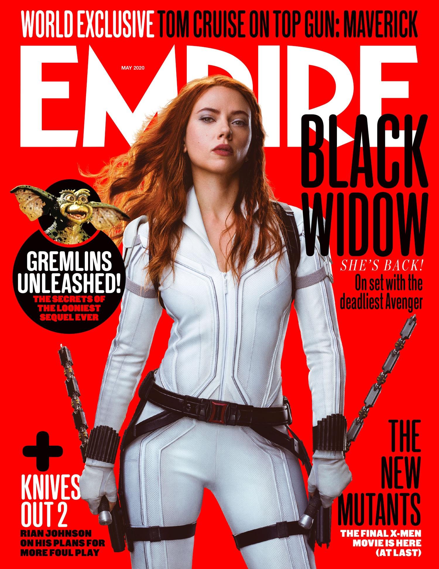 Portada de Empire dedicada a Black Widow