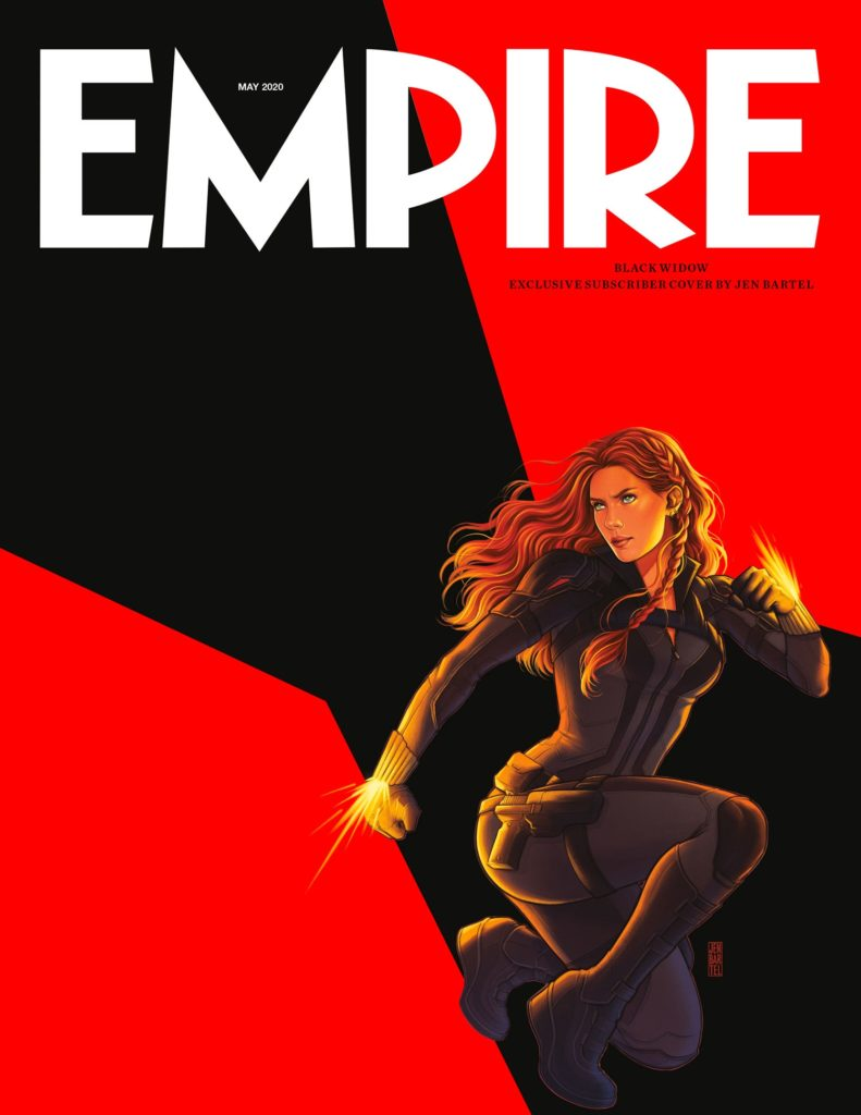 Portada de Empire dedicada a Black Widow