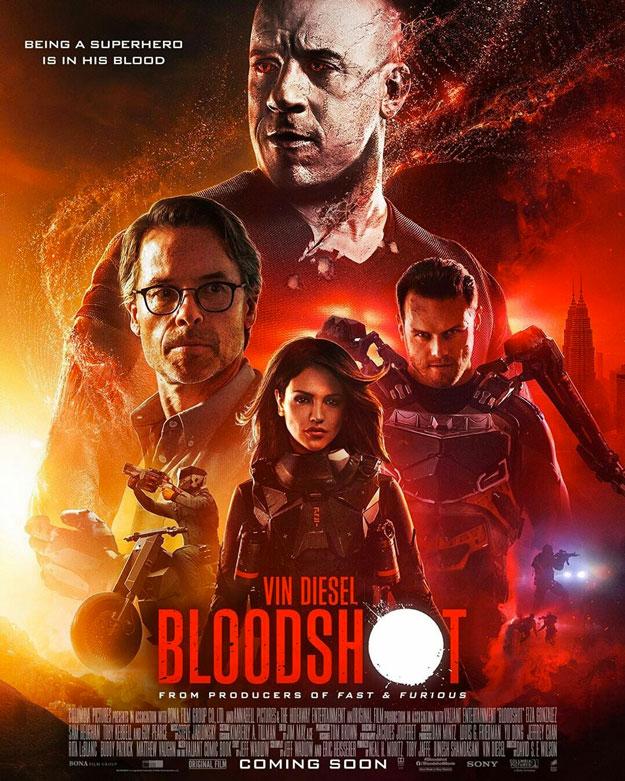 Póster de Bloodshot