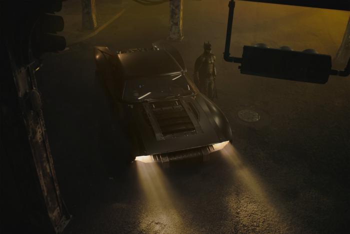 Primera imagen del Batmóvil en The Batman